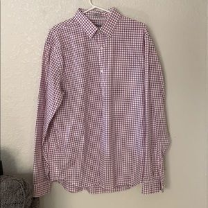 Express fitted 17-17.5 XL button down